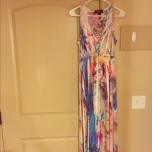 Style Co. Multi Colored Maxi Dress